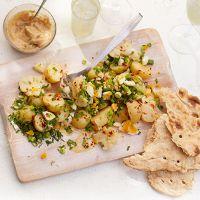 Jersey Royal & cauliflower salad