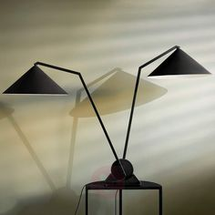 Northern Gear Table – bordlampe i industriell stil Table Lamp Design, Lampshades, Lamp, Bulb, Side Table, Table, Lights, Steel, Light