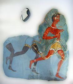 Fresco at Knossos, 1500BC