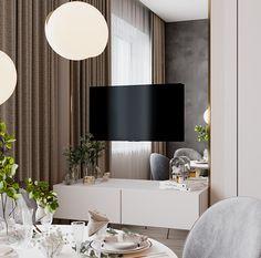 Apartment in Kazan, Russia.What: Apartment Girl Bedroom Designs, Living Room Designs, Condominium Interior, Wall Design, House Design, Apartment Projects, Kitchen Colors, Small Apartments, Interior Design Kitchen