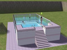 Mod The Sims How To Make An Above Ground Pool Home