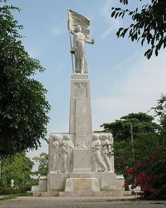 Monument in Barranquilla, Colombia