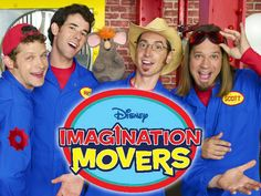 The Mommies meet Rich and Scott from the new Playhouse Disney show, The Imagination Movers, and learn about how the band got started. Description from shelf3d.com. I searched for this on bing.com/images