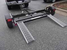 Car Tow Dolly -The Lightest and Toughest Tow Dolly For All Car Towing . Trailer Dolly, Free Trailer, Trailer Plans, Trailer Build, Car Trailer, Utility Trailer, Teardrop Camper Trailer, Camper Trailers, Travel Trailers