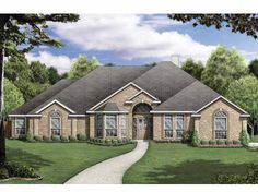 New American House Plan with 2532 Square Feet and 5 Bedrooms(s) from Dream Home Source | House Plan Code DHSW63639