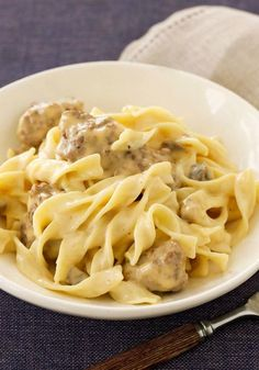 VELVEETA Cheesy Beef Stroganoff – If you like the classic hearty beef stroganoff, wait 'til you try this delicious dinnertime recipe. Delectably melty VELVEETA takes this saucy dish to a whole new level!
