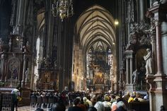 The Stephansdom is Vienna's most famous cathedral and one of the tallest churches in the world