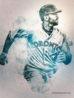 Epic home run and bat flip by Jose e Toronto Blue Jays Sports Art, Sports Games, Baseball Training, Baseball Art, Sports Graphics, Mlb Teams, Toronto Blue Jays, Go Blue, Screen Printing
