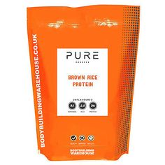 #Brown rice protein powder pure #vegan vegetarian shake drink 1kg #2.5kg 5kg,  View more on the LINK: http://www.zeppy.io/product/gb/2/322384780044/