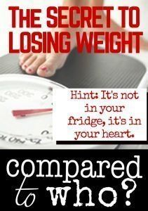 What if the key to losing weight wasn't about food or exercise but about something deep within our hearts. I LOVE this! So encouraging if you want to lose some pounds. #weightlosstips