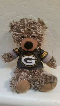 Green Bay #Packers Super Soft Teddy Bear With Hoodie #NFL-new from $8.5