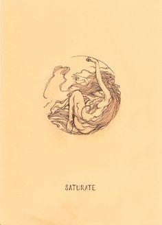 SATURATE Art Inspo, Kunst Inspo, Art And Illustration, Photo Humour, No Rain, Wow Art, Mellow Yellow, Oeuvre D'art, Art Nouveau