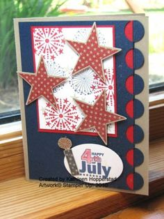 Patriotic card by kathleenh - Cards and Paper Crafts at Splitcoaststampers