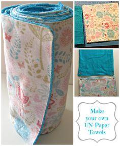 Un-Paper towels.