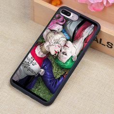 The Joker & Harley Quinn Love Printed Soft TPU Skin Phone Case For iPhone 6 6S Plus 7 7 Plus 5 5S 5C SE 4 4S Cases Back Cover