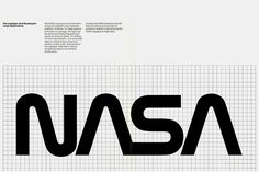 hypebeast: Take a Closer Look at NASA's Futuristic Logo From the '70s