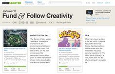 """""""KICKSTARTER"""" pallette http://www.colourlovers.com/web/trends/websites/7853/KICKSTARTER"""
