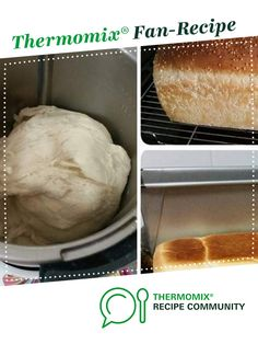 Jumbo White Bread Loaf - Thermomumma - replace bread improver with 2 tsp apple cider vinegar or leave out Dough Recipe, Cobb Loaf, Bread Improver, Thermomix Bread, Bread Recipes, Cooking Recipes, How To Make Dough, Bun In The Oven