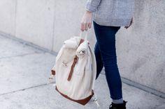 mochila roll-top | instrucciones paso a paso