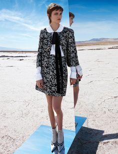 Peyton Knigh | Harper's Bazaar US Agosto 2016 | Editoriais - Revistas de Moda