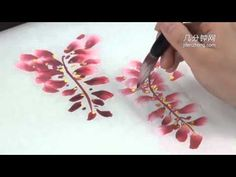 ▶ 16638 The Introduction of the Traditional Chinese Painting of Wisteria - YouTube