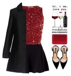 """""""#PolyPresents: New Year's Resolutions"""" by fashiondiaryy ❤ liked on Polyvore featuring Miss Selfridge, Lace & Beads, Dsquared2, Blugirl, iittala and Match"""