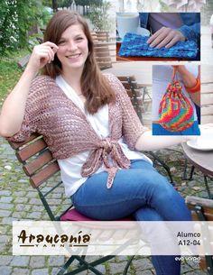 Shrug, Clutch & Purse | Knitting Fever Yarns & Euro Yarns
