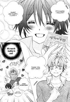 Kobayashi ga Kawai Sugite Tsurai!! 6 Page 8 - Omg this manga is pretty adorable XD and I love this guy! Pretty funny too!