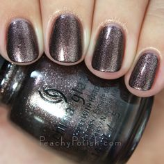 China Glaze Wood You Wanna? | Fall 2015 The Great Outdoors Collection | Peachy Polish