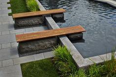 Bench + Pond detail