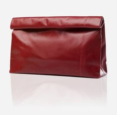 The Marie Turnor Dinner Clutch is larger and dressier than its counterpart, the Lunch Clutch. With an interior pocket and hidden magnetic closure, the Dinner Clutch is perfect to carry for your long nights out in town with friends. It is made of soft, crinkly leather, making for a simple and comfortable clutch to use. http://www.zocko.com/z/JFuw8