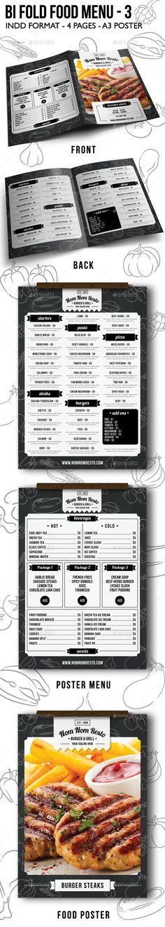 Food Menu Templates Printable Restaurant Menu by aiwsolutions ...