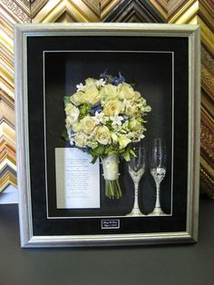 "Make your wedding last beyond the ""I Do's"" - freeze your bouquet"