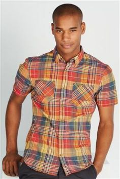 Buy Textured Check Shirt from the Next UK online shop
