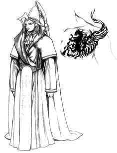 Seymour, Seymour Guado, Final Fantasy X, Tetsuya Nomura