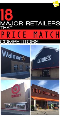 18 Major Retailers That Price Match Competitors