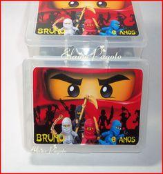 Caixa organizadora Ninja Lego