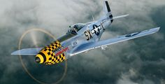 """This P-51 was based in Raydon, England with the 8th Army Air Force (352nd Squadron, 353rd Fighter Group), where it was assigned to Lt. Harrison B.""""Bud"""" Tordoff. Tordoff flew the aircraft in support of the daylight bombing raids against Germany throughout occupied Europe and in support of missions for the Allied ground forces during the liberation of mainland Europe. In the summer of 2003, Captain Tordoff was reunited with this plane – the first time he had seen it since ceasefire."""