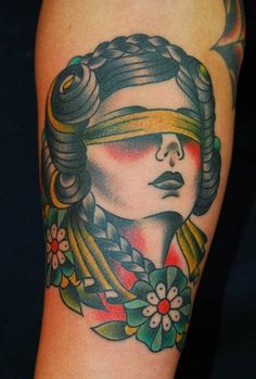 15 Virtuous Lady Justice Tattoos