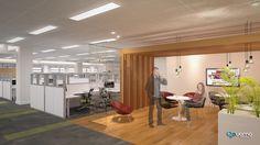 Projeto em 3D. Cliente: Technip. #arquitetura #arquiteturacorporativa #3D