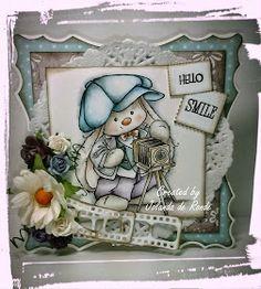 Jolanda's Creaties: Hello Smile