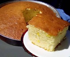 Sweet Recipes, Cake Recipes, Greek Desserts, Biscotti Cookies, Food Gallery, Cornbread, Recipies, Lemon, Chocolate