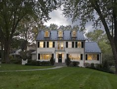 """An amazing whole house renovation. You won't believe what this classic colonial looked like in the before shot. A """"must read"""" article if you are house hunting. http://contentinacottage.blogspot.com/2011/07/classic-home-renovation-or.html"""