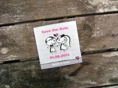 Save+the+date+MAGNET+ +Männekins+grau+von+zartbesaitet+auf+DaWanda.com