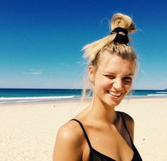 little black bikini #elle[mer] swimwear