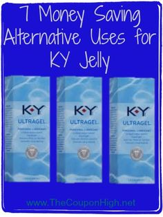 7 Money Saving Alternative Uses for KY Jelly. No need to buy expensive products like Goo Gone and Pantent leather cleaner when you can pick up KY Jelly for Free with Couopons. Ways To Save Money, Money Tips, Money Saving Tips, Living On A Budget, Frugal Living Tips, Ky Jelly, Saving Ideas, Recycled Crafts, Love And Marriage
