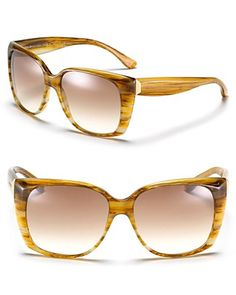 Balenciaga Oversized Cat Eye Sunglasses