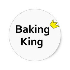 >>>Best          Baking King Sticker           Baking King Sticker This site is will advise you where to buyShopping          Baking King Sticker lowest price Fast Shipping and save your money Now!!...Cleck Hot Deals >>> http://www.zazzle.com/baking_king_sticker-217771787222090552?rf=238627982471231924&zbar=1&tc=terrest