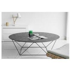 Table basse avec plateau en imitation béton ciré COPA DECLIKDECO