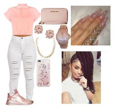 """""""Untitled #728"""" by queen-ayanna on Polyvore featuring Bellfield, Puma, Juicy Couture, MICHAEL Michael Kors and With Love From CA"""